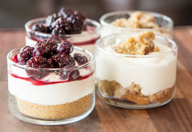 Mini Cheesecake Parfaits