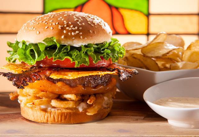 Radical Bacon Cheeseburger