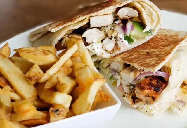 Zorba the Greek Wrap