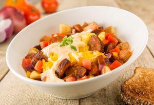 Chorizo Brekkie Bowl