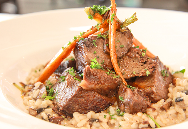 Wine Braised Beef Short Ribs