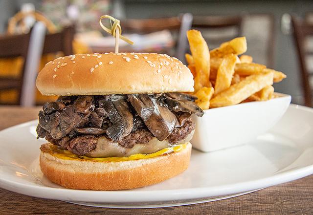 Mighty Mushroom Burger