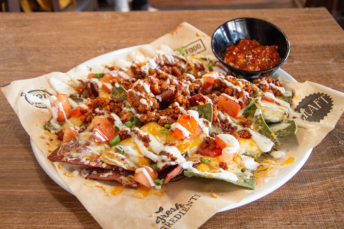 Twisted Nachos with Chorizo