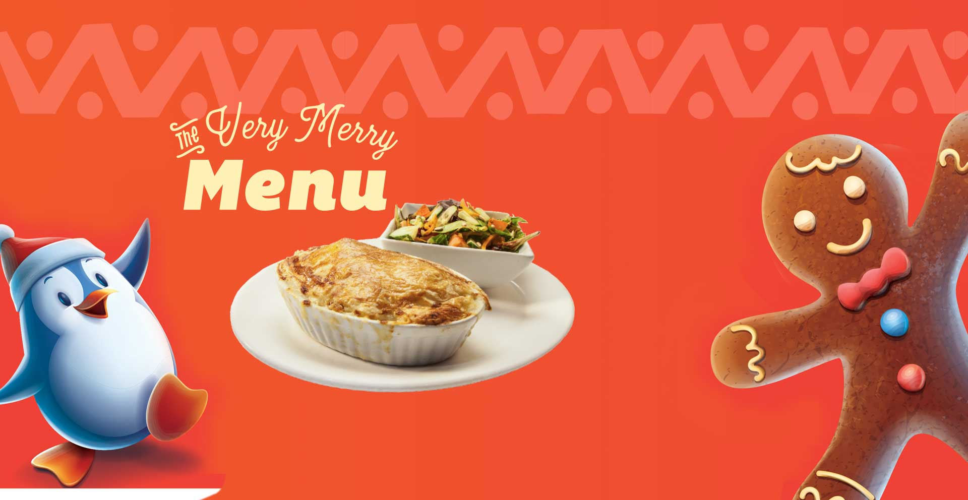 Choose from a homestyle slow roasted turkey dinner to turkey pot pie and much more.