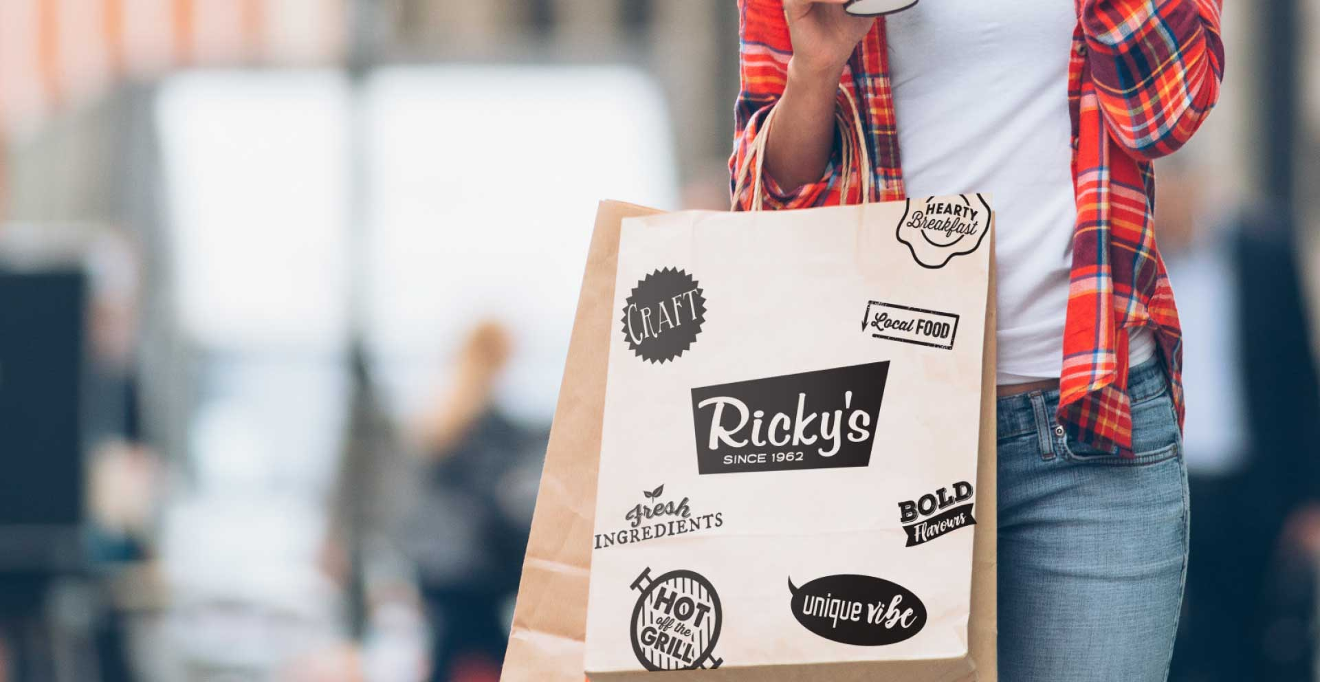 Call the restaurant for take-out or see if your local Ricky's delivers with Skip the Dishes!