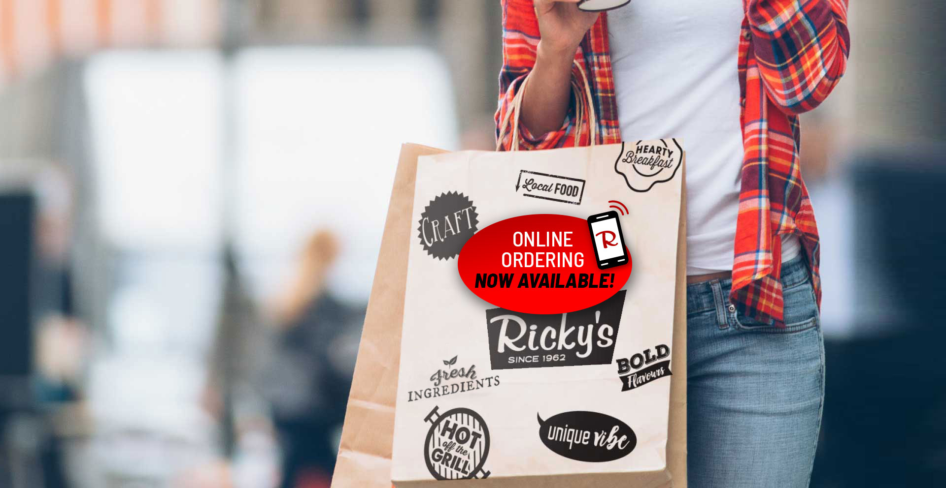 Order online or call the restaurant for quick and easy take-out. Or see if your local Ricky's delivers with Skip the Dishes.