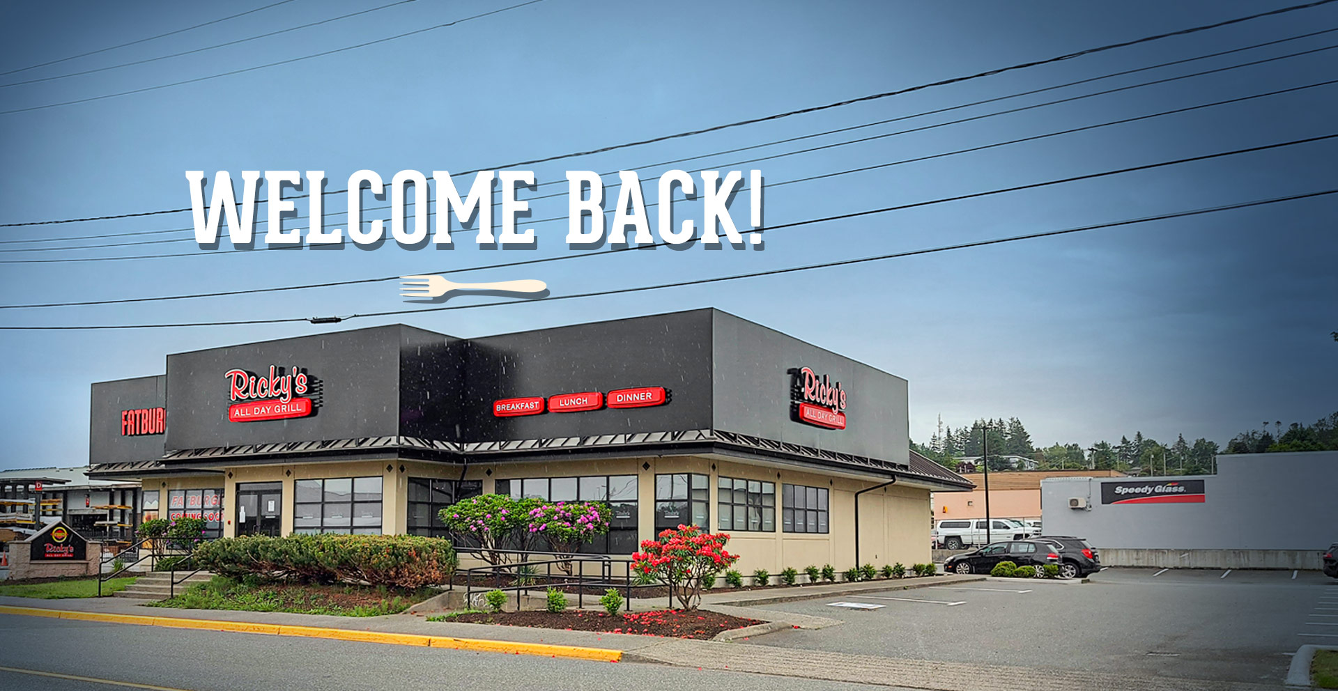 Ricky's Campbell River has a brand new look! Enjoy breakfast, lunch & dinner at our newly renovated location.